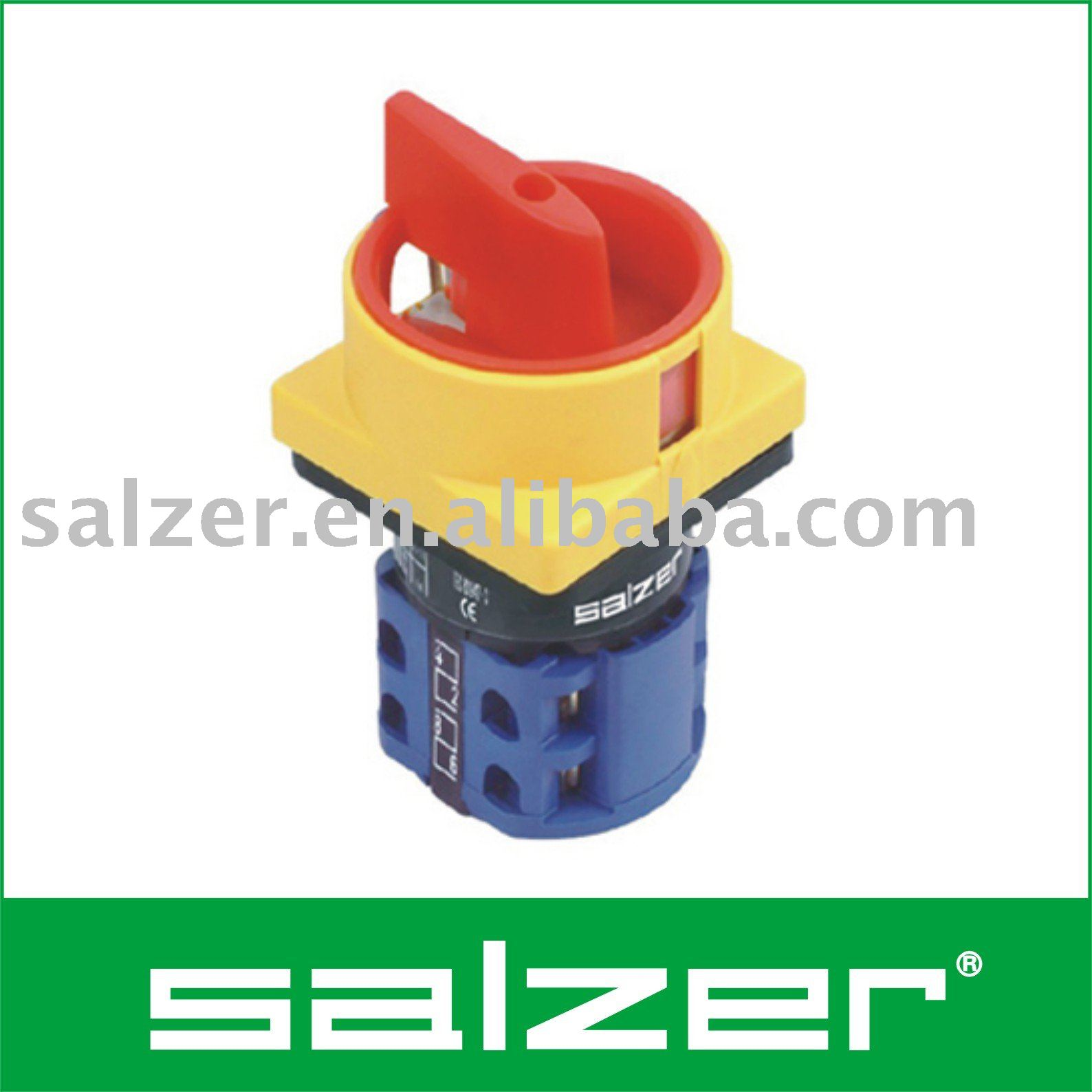 Salzer AC Isolator Switch OFF ON TUV salzer ac isolator switch off on (tuv ce cb certificate) buy salzer switches wiring diagram at gsmx.co