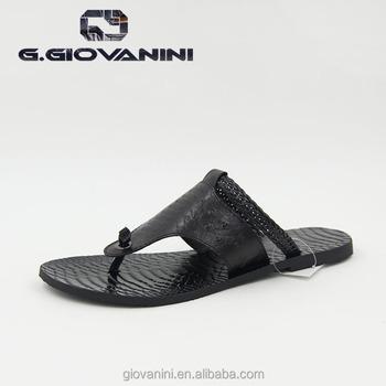 22221391d Black Leather Fashion Design Genuine Leather Men Sandals - Buy Men ...