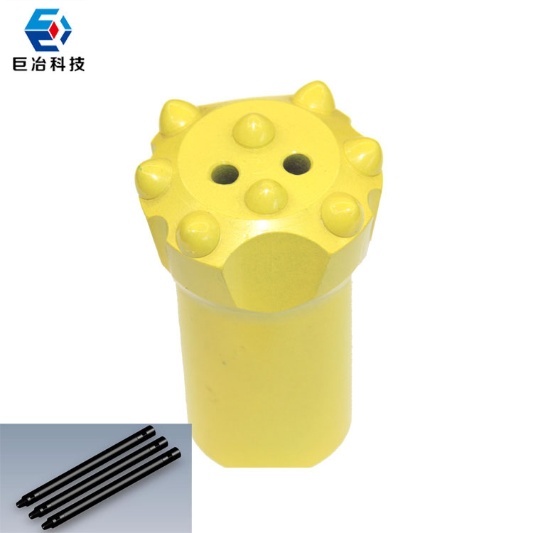 7degree 42mm Tapered Button bit drilling bit for mining drilling machine