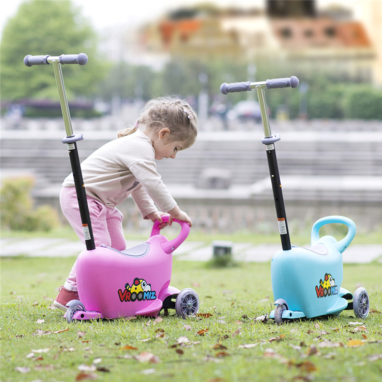3 IN 1 New baby toys frog kick scooter for kids/ Children three wheels twist cheap scooter/Best toys for kids kick pedal scooter