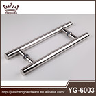 2015 H type stainless steel glass door handle