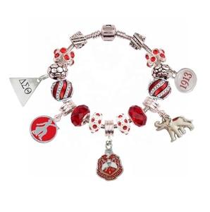 20e1b4eb6 Delta Sigma Theta Jewelry Charm Bracelet Wholesale, Bracelet Suppliers -  Alibaba