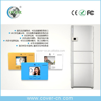 Hottest products!!! Lovely digital fridge video memo / fridge magnet for good wedding sourvenior gift/christmas gift