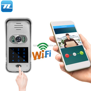iPhone/Android Smartphone Wifi Video Doorbell Camera with Motion Sensor
