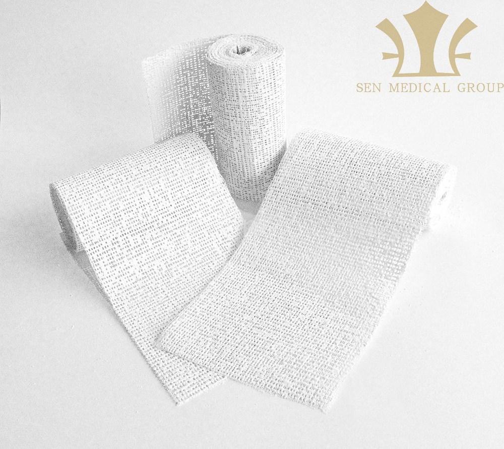 Gypsum Plaster Of Paris : Medical white gypsum plaster of paris bandage with fda