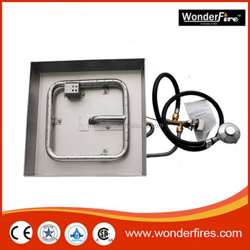 Outdoor Gas Fire Pit Pan Burner Bruner Ring Ng Conversion Kit Patio Firepit Heater Product On Alibaba