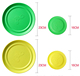 Partypro BSCI factory children game sports outdoor toys plastic ultimate disc blank flying disc golf