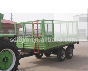 7CX-5t series High hurdles tipping trailer in Liberia