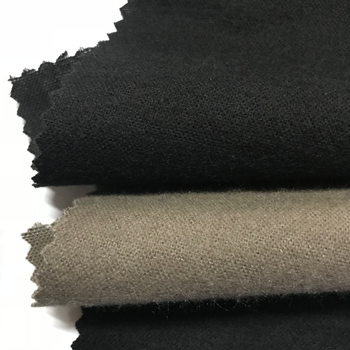 China factory direct fleece fabric solid dyed plain 100% cotton brushed winter lining