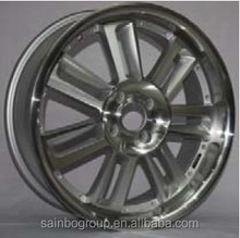 Polishing Red Spoke Euro Racing Car Alloy Wheel s366