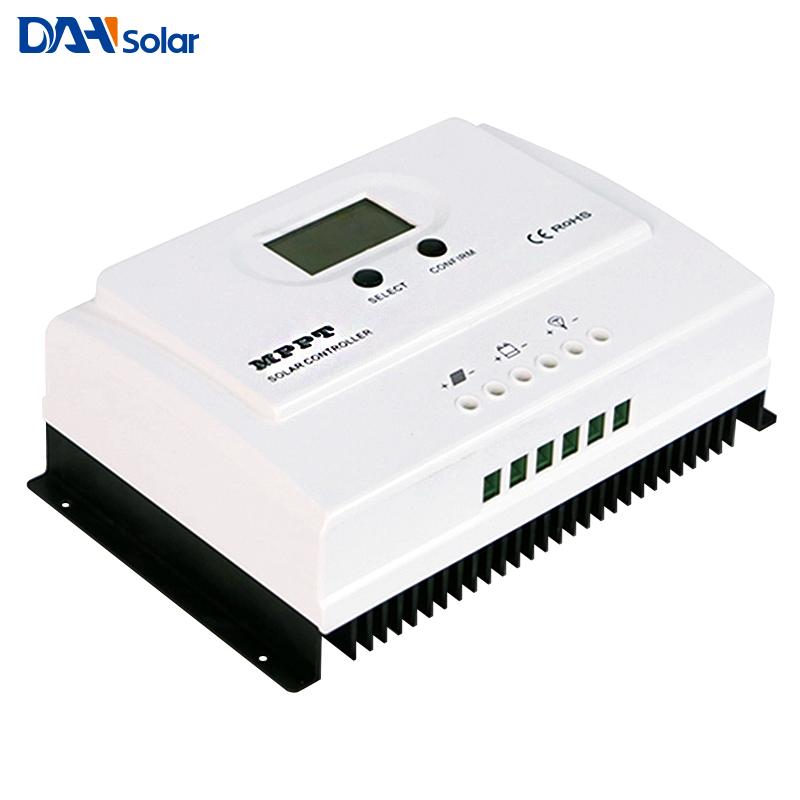 Heimwerker Wiser3 Series Mppt 50a Solar Charge Controller Dc12v/24v With Lcd Laderegler
