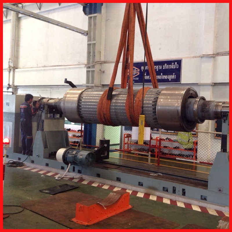 Large Motor Rotor Generator Dynamic Balancing Machine