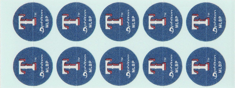 Phiten MLB Authentic Titanium Discs, Texas Rangers, 30 Discs