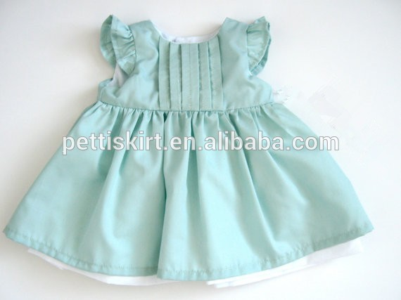 45476149965 Soft Handmade Kids Clothing Baby Frock Denim Design Pictures Dress Baby  Girl Dresses With Trimming Lace