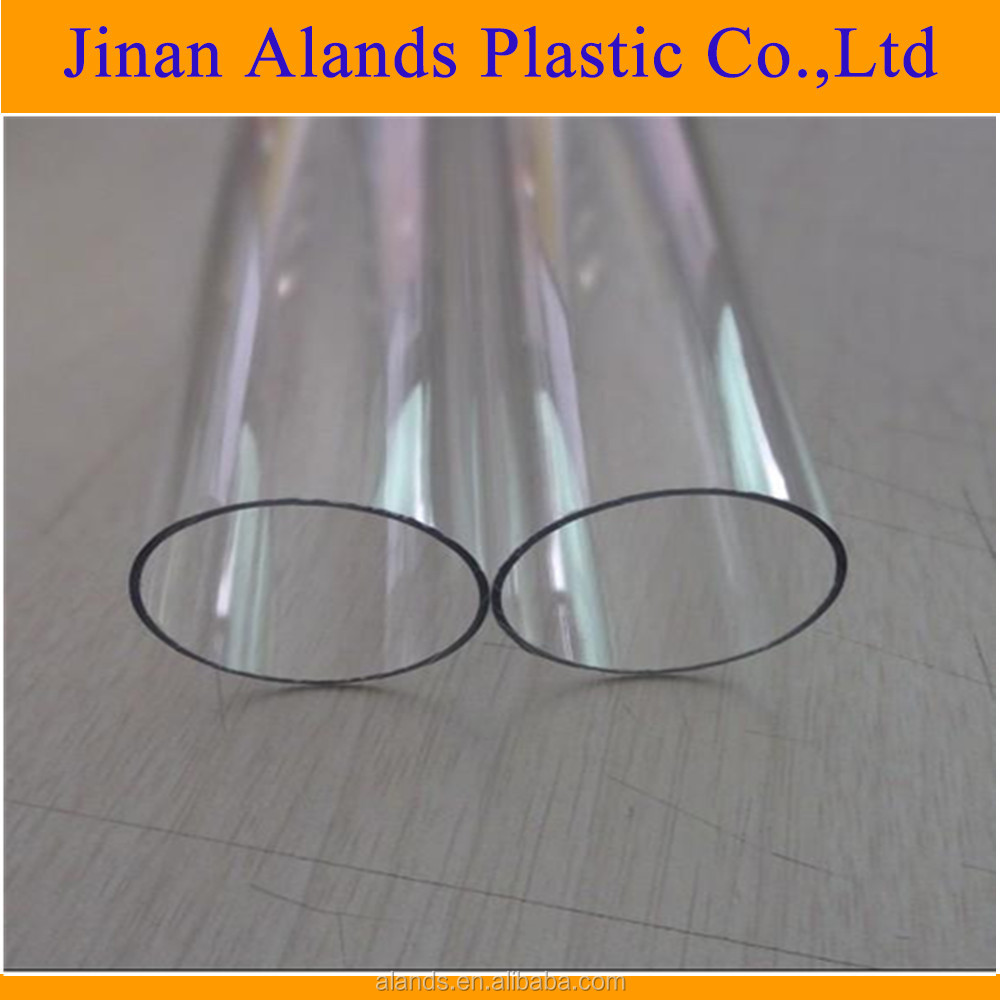 PMMA material acrylic plastic clear hollow acrylic tube