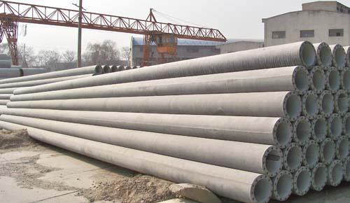 Conduit In Concrete Pole : Prestressed and reinforced spun concrete utility pole
