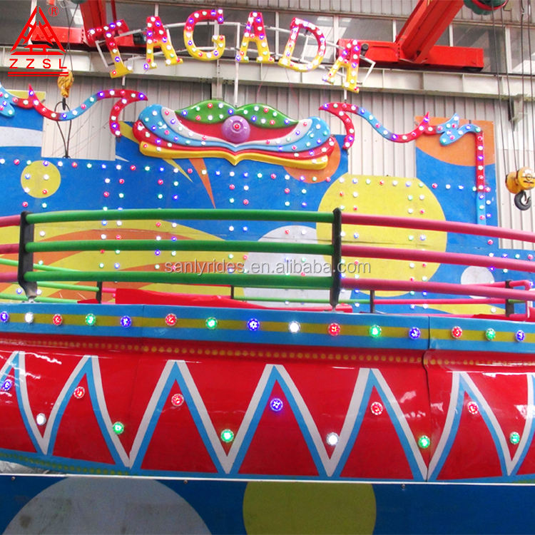 Kids Attractions Amusement Park Mini Disco Tagada Rides For Sale