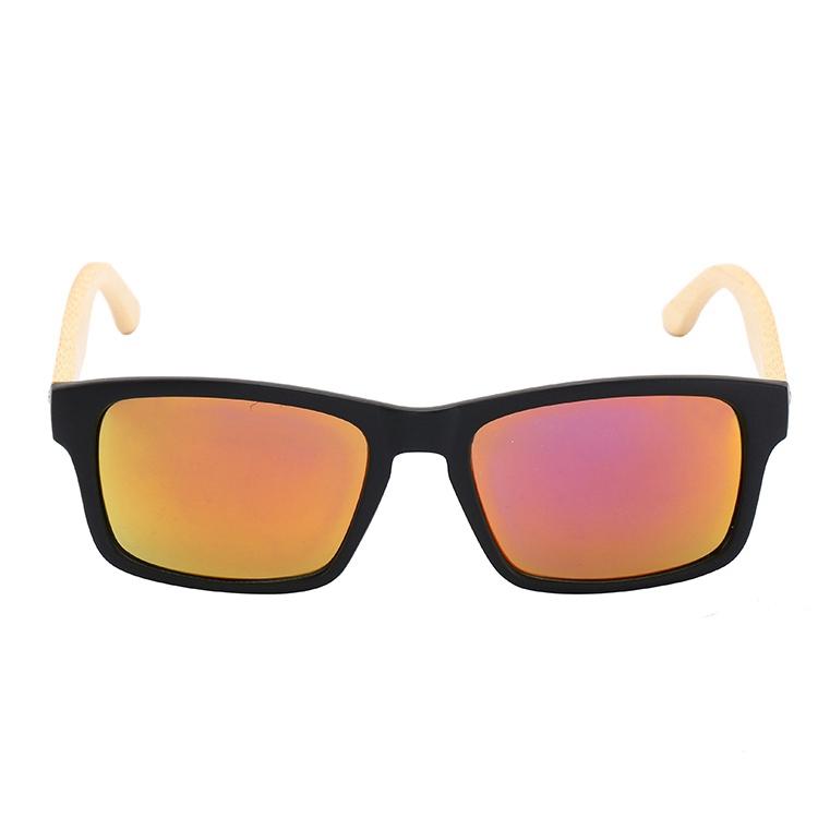 e4d3a92dcc Promoción nueva moda modelo de lentes natural gafas de sol de bambú, ...