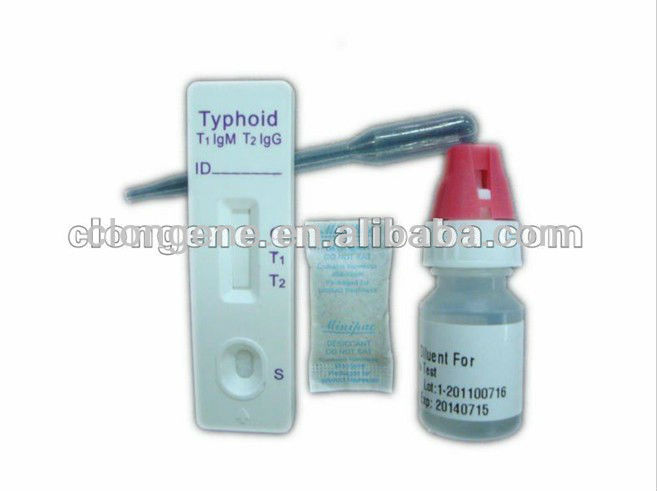 Over 99% accurate Typhoid IGg/IgM Test kits