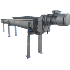 gravel concrete incline powder hopper screw conveyor feeder blade