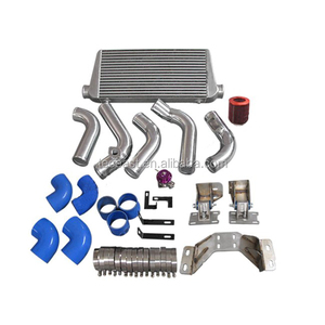 Intercooler Piping Engine Transmission Mount Swap Kit For 240SX S13 S14  2JZ-GTE 2JZGTE