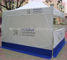 Small Advertising Gazebo Tent Stall