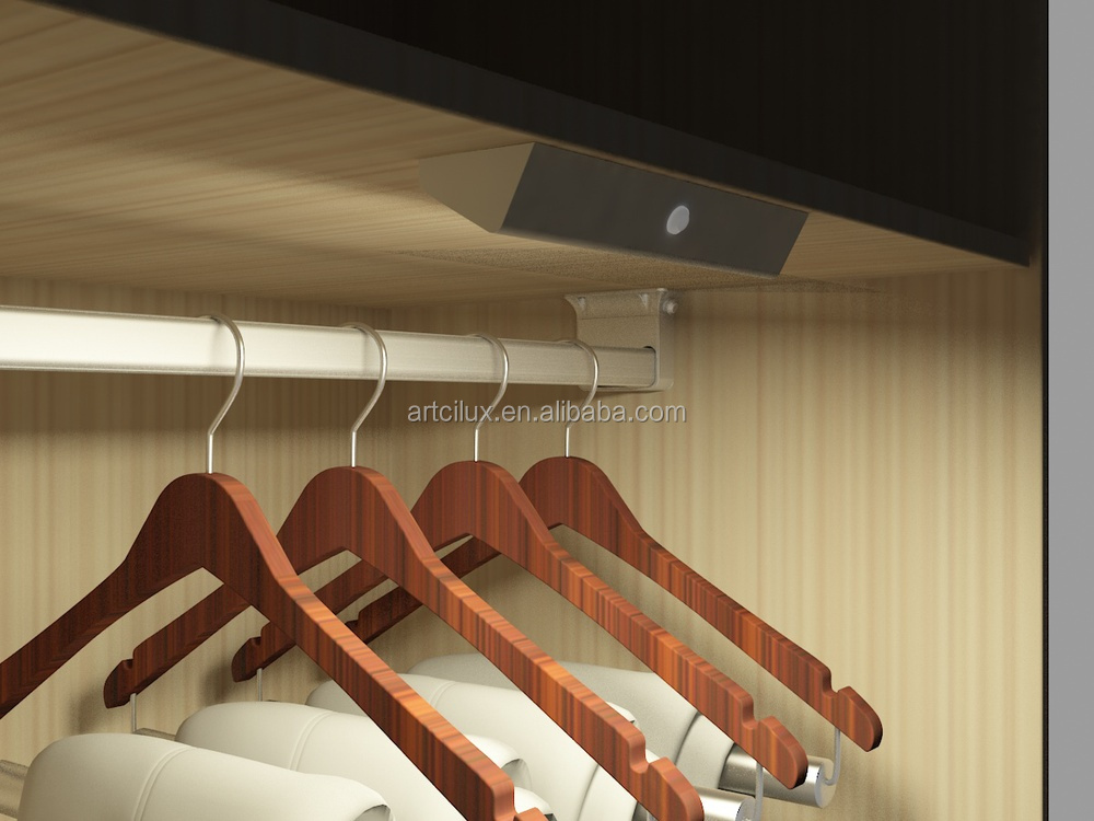 geleid kast licht hanger armatuur kledingkast spoor staaf led