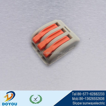 wago 222 413 connector electric 3way wago connector. Black Bedroom Furniture Sets. Home Design Ideas