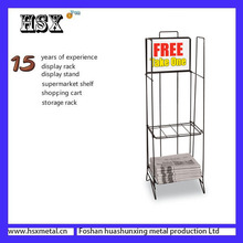 stand for small tabloid hotel paper newspaper display rack HSX-Z-537