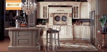 Victorian Style Wooden Kitchen Furniture Set New Design Wooden Kitchen Cabinet With Kitchen Doors