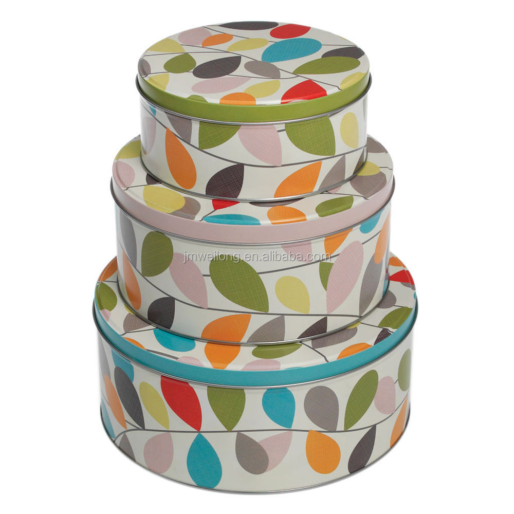 Cake Tins For Storage Home Decorating