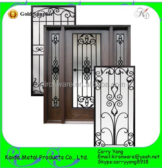 D 39 ornement classique en fer forg porte et fen tre grill grilles de portes fen tres id de for Porte et fenetre en fer