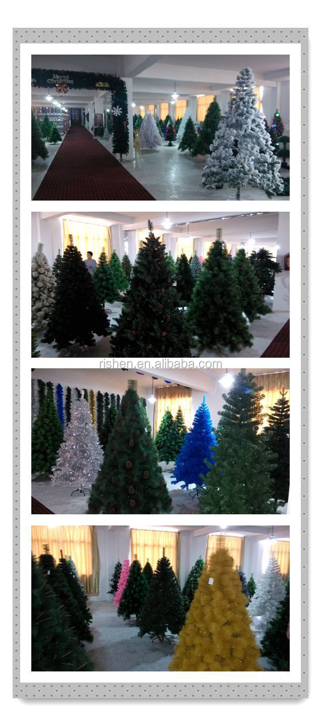 Decorative Pull Up Christmas Tree With LED String Light Various Christmas  Decorations