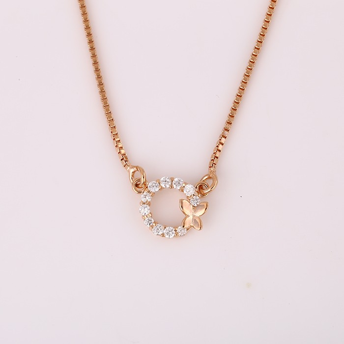 41786 Newest Design Fashion Jewelry Rose Gold For Unisex