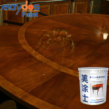 Colors High Hardness Liquid Glossy Finish Wood Furniture Polyurethane Coating Varnish Paint For Color