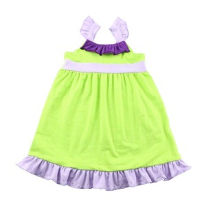 New styles baby summer princess dress girls cotton dresses 2-12 wholesale boutique sweet honey clothing