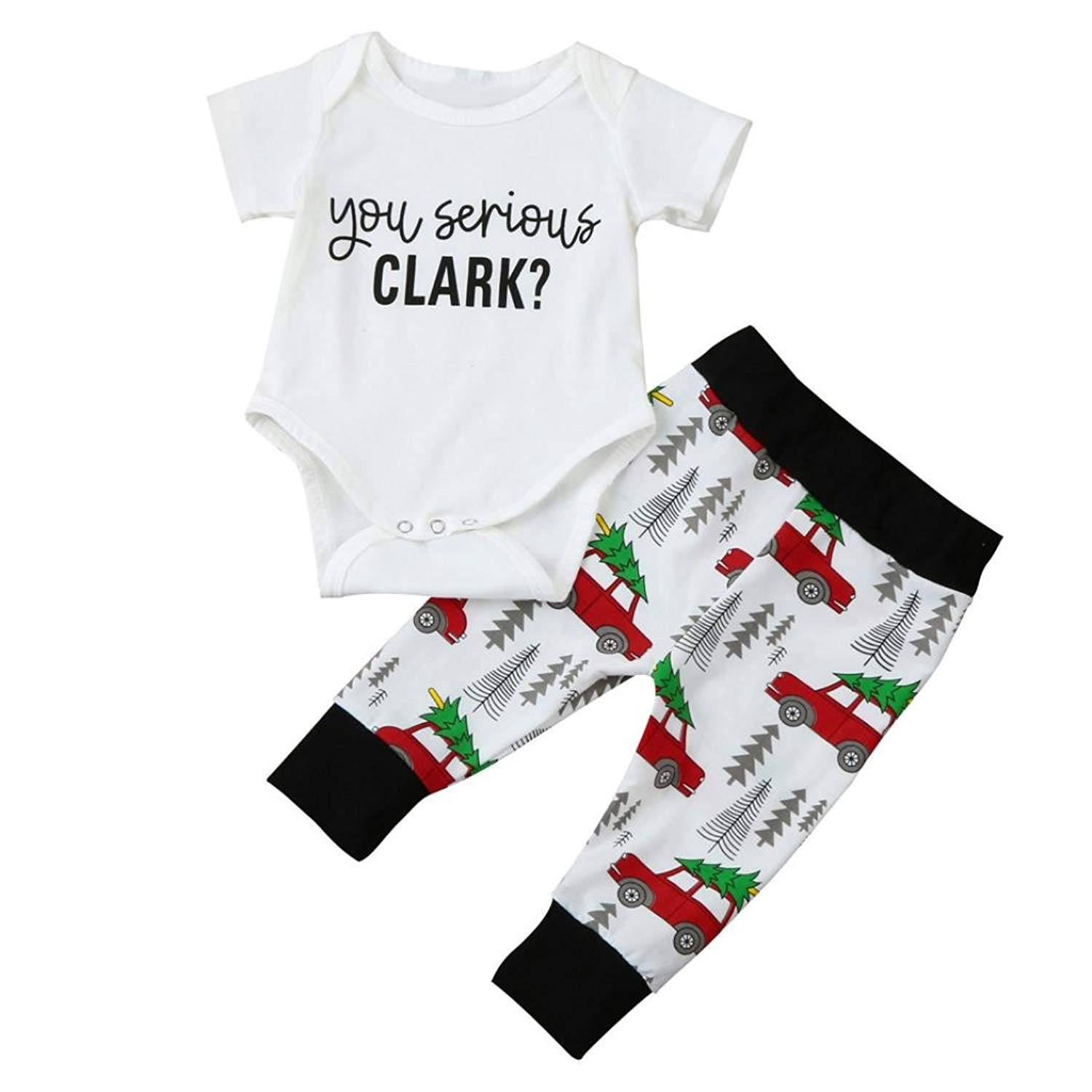 Memela Shop The Look (TM) New Fall/Winter Layette Gift Set Matching Family Christmas Outfits Clothes Set
