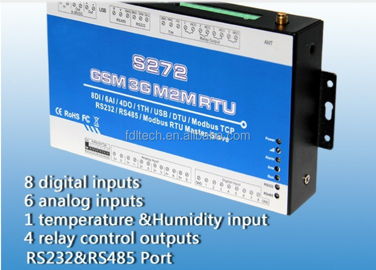 Modbus RTU Module S272 with RS485 Can be used as Modbus RTU Slave