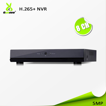 High definition 5MP CCTV NVR IP Camera ONVIF H 265+ HDMI Network Video  Recorder 8 ch Channel xmeye NVR with power supply, View nvr, OYESEE Product