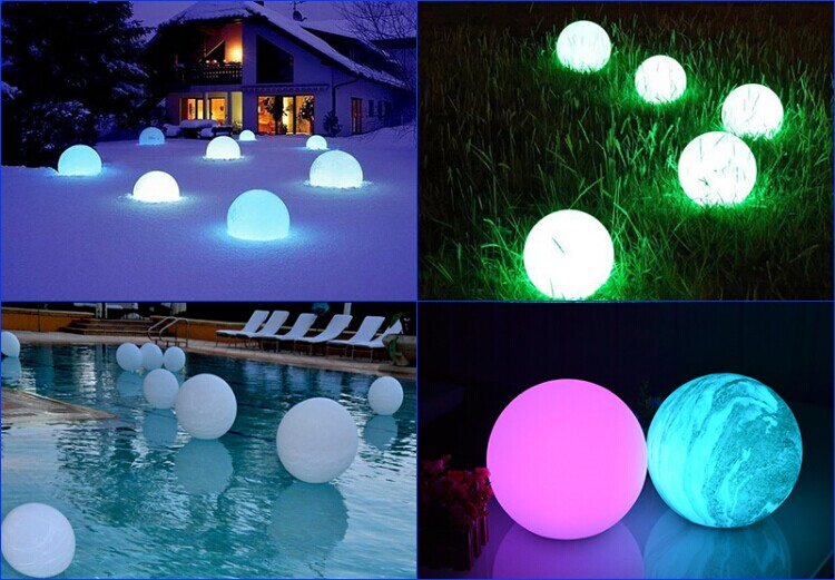 High Quality Led Ball Light Outdoor /beach Ball Christmas Lights ...