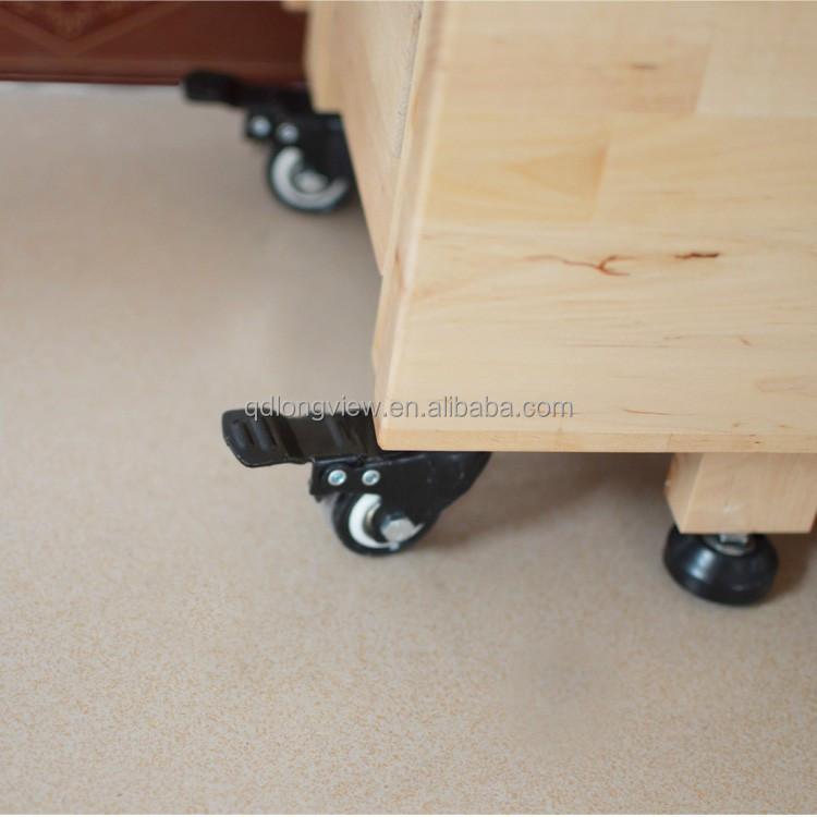 Muntifunction dise o de comedor de madera maciza mesa plegable con ruedas ajustable escritorio - Mesa escritorio con ruedas ...