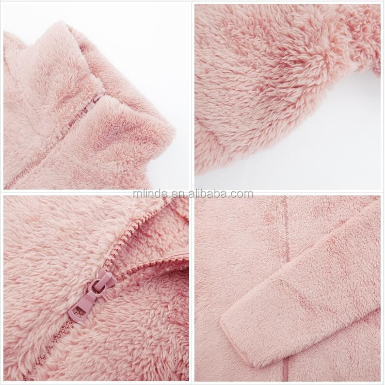 custom plus size fleece fur warm coats and jackets company manufacturer apparel women winter coats 2017