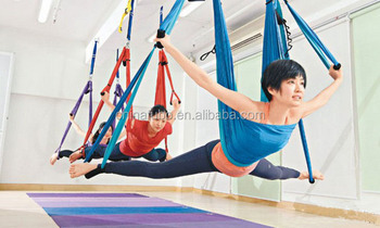 Medium image of inversion sling   yoga swing aerial yoga swing deluxe aerial yoga hammock