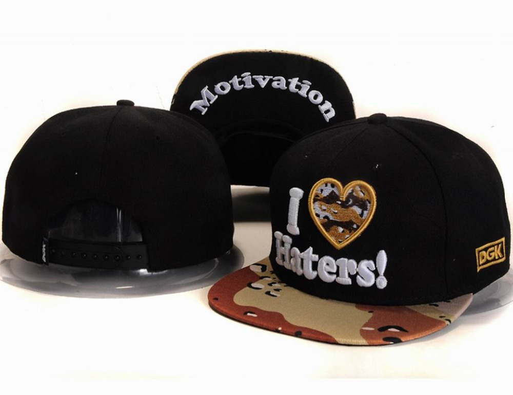 ed6f898579e23 Buy 2015 Men  39 s DGK I LOVE HATERS Snapback Hat Black Top With Camo Visor  Street Hip Hop Sports Cap Motivation Embroidery Under Brim in Cheap Price  on ...