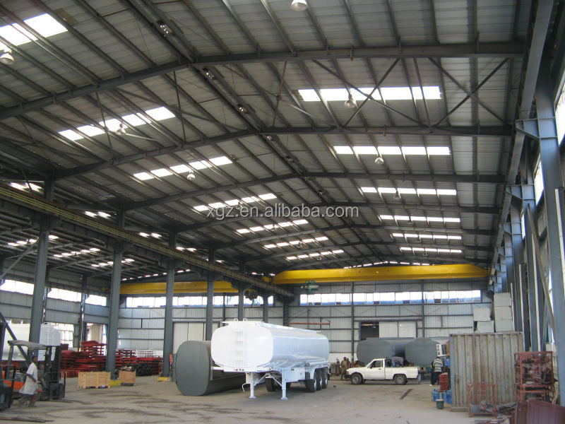 Storage Auto Steel Fabrication Workshop Layout
