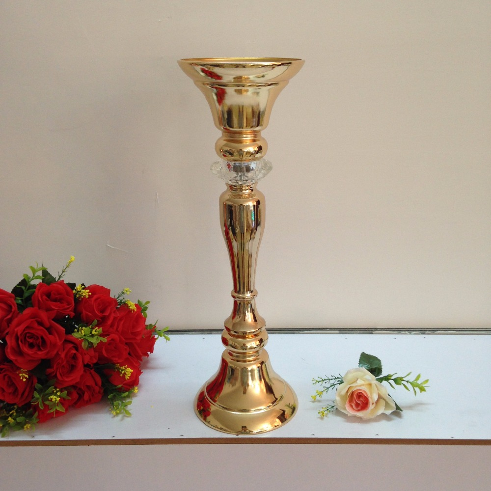 Gold Wedding Flower Vase Wed Direct