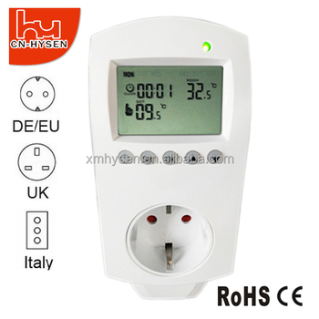 Programmable Plug-in Thermostat 3000W 16A