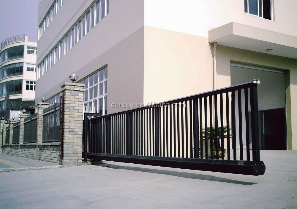 Automatic Suspended Sliding Driveway Gate