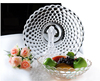 Haonai Hotsell glass plate, clear glass fruit plate,glass fruit dish