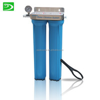 20 inch 2 stages blue housing water filter systems